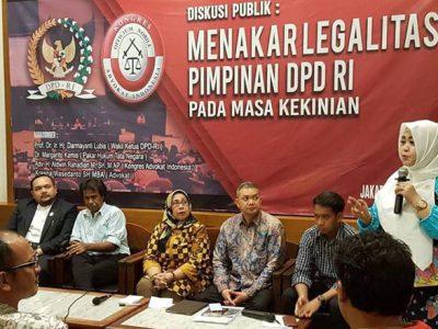 Fahira Idris Minta Polemik Kepemimpinan DPD RI Dihentikan