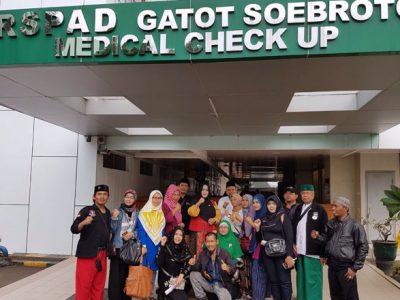 Fahira Idris Bang Japar Jaga Hermansyah di RSPAD