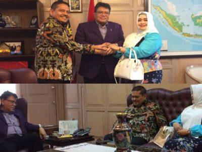 DPD RI Kunjungi Dubes Malaysia, Prihatin Bendera Indonesia Terbalik