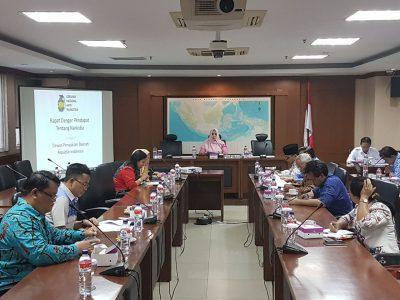 RDP Komite III dengan DPP Granat dipimpin Fahira Idris