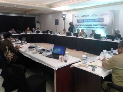 DPD Perlu Konstitusi yang Tegas Untuk Perjuangkan Kepentingan Daerah