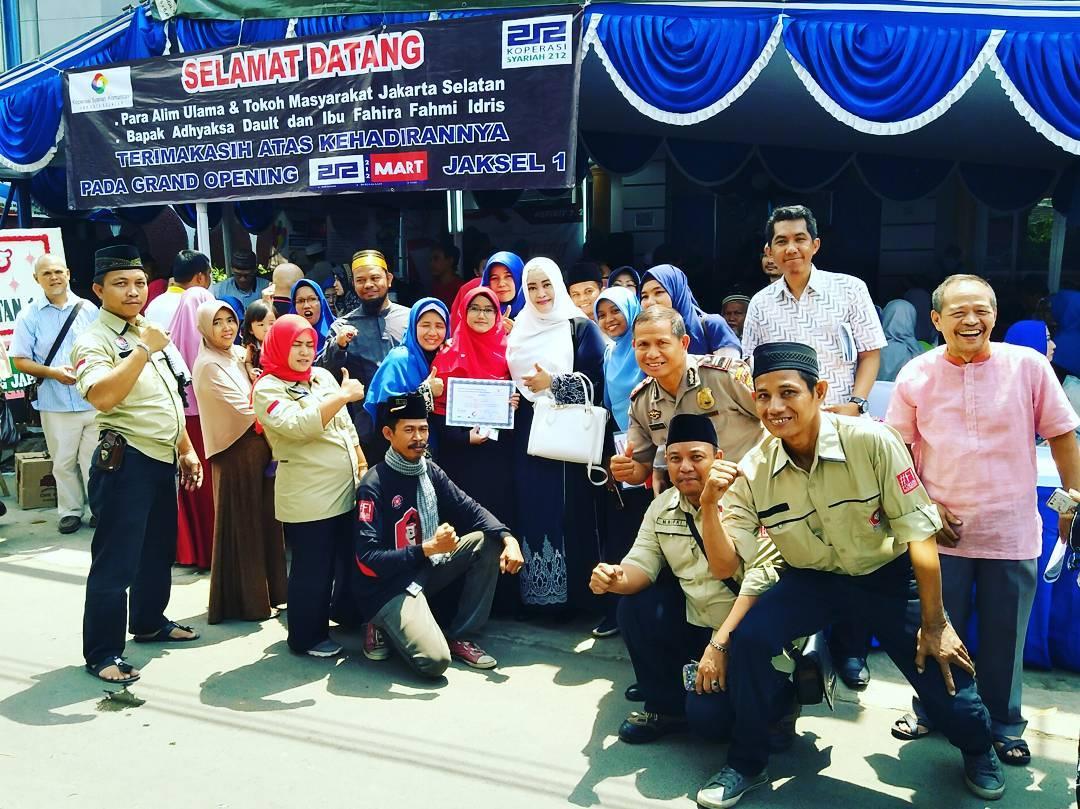 Koperasi 212 bang Japar Fahira Fahmi Idris