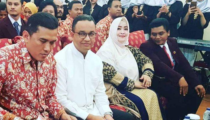 Janji Jokowi ditunaikan Anies Sandiaga