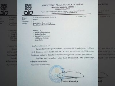 Setelah Dihujani Kritik, Rektor UIN Suka Akhirnya Mencabut SK Larangan Mahasiswi Bercadar