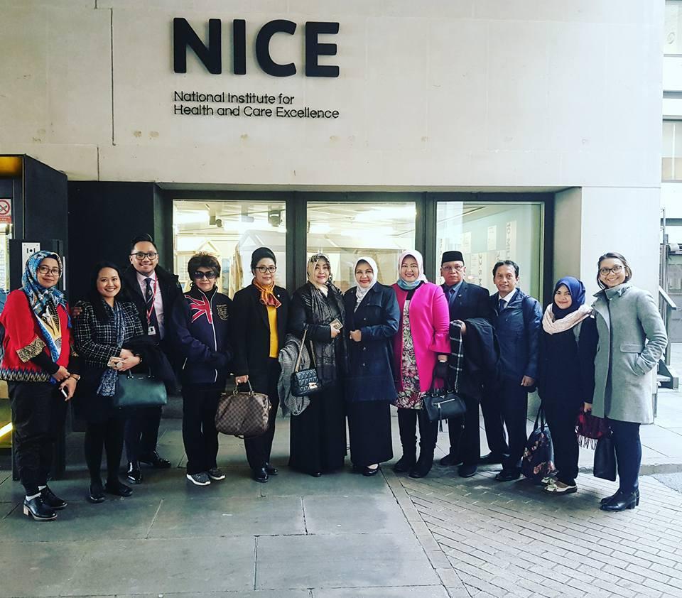 Tugas Memimpin Delegasi Komite III DPD RI ke National Institute for Care i