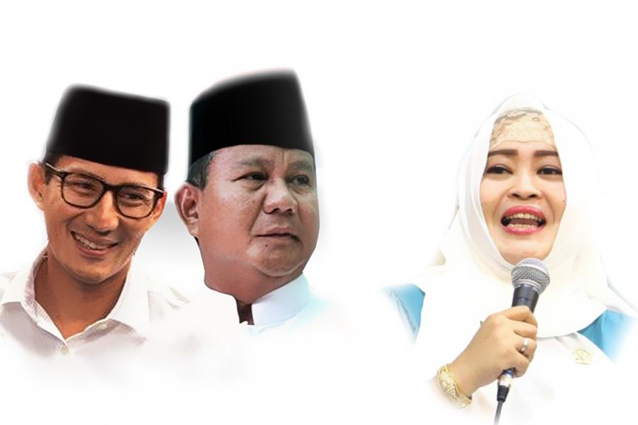 Fahira Idris dukung penuh Prabowo Subianto Sandiaga Uno