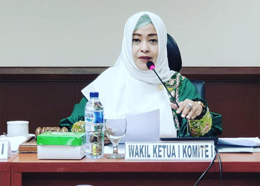Fahira Idris Wakil Ketua Komite I DPD RI AY Harus Dapat Keadilan, Agar Kejadian Serupa Tak Terulang