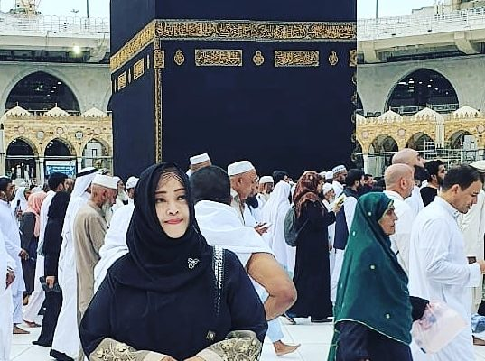 Fahira Idris umroh haji mekah habib rizieq