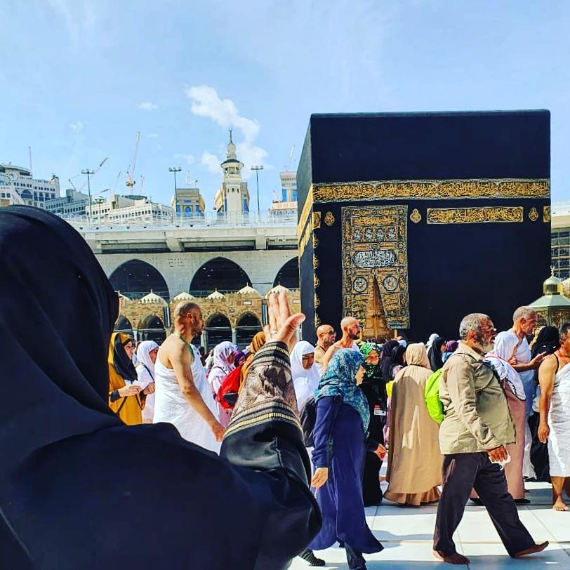 Fahira Idris umroh, ka'bah, Mekkah, Saudi Arabia