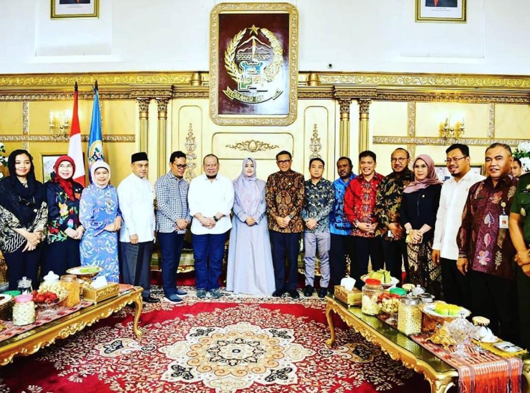 Fahira Idris Komite II DPD RI Kunker ke Sulsel, Makassar, La Nyalla