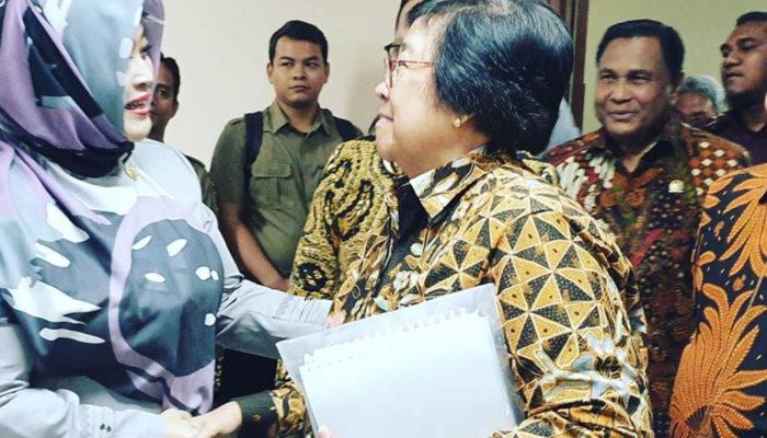 Raker Dengan Menteri KLHK, Fahira Bahas Draft RUU Cipta Kerja