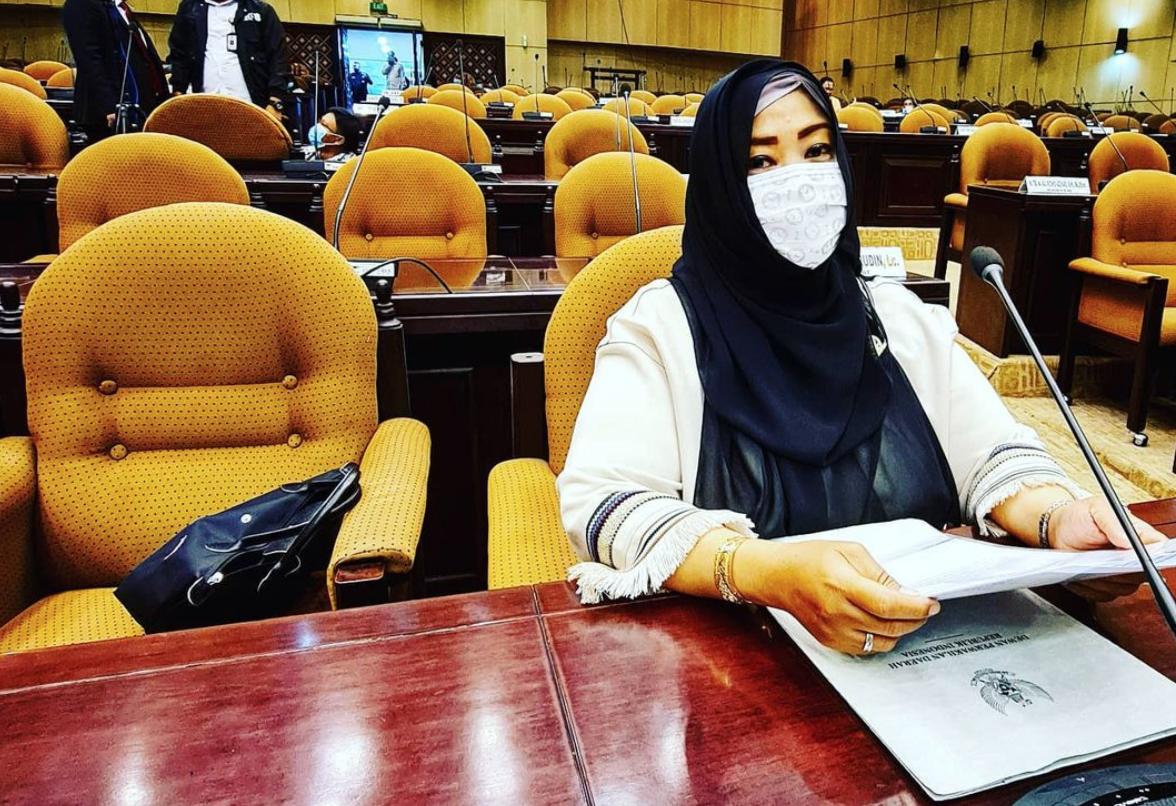 Fahira Idris kantor DPD RI