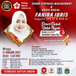 Serap Aspirasi Masyarakat & Bakti Sosial Fahira Idris Anggota DPD RI & MPR RI di Jakarta Timur